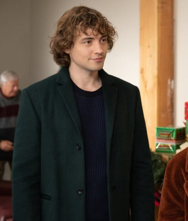 The Knight Before Christmas Josh Whitehouse Green Trench Coat