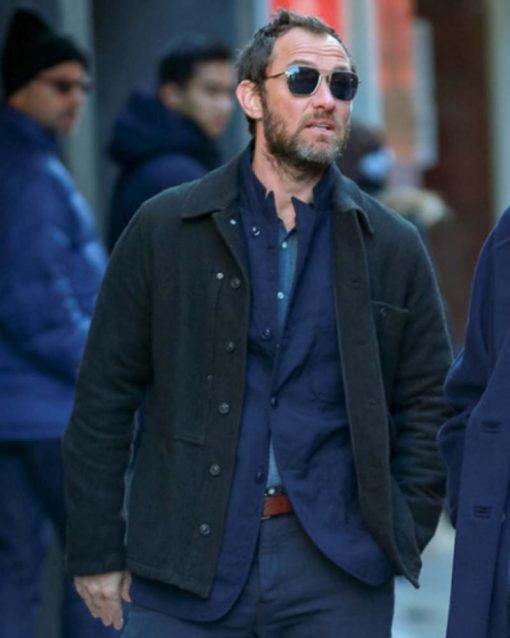 Jude Law Black Jacket