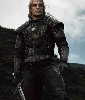 The Witcher Henry Cavill Leather Jacket
