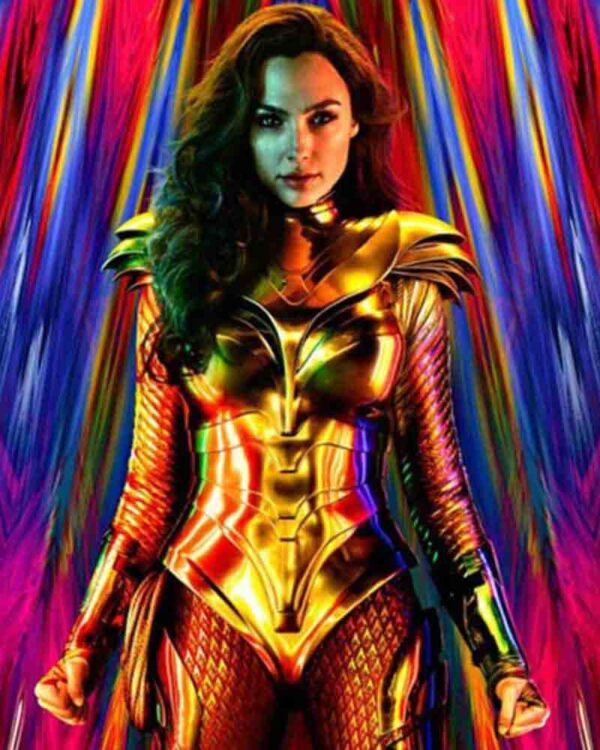 Wonder Woman 1984 Gal Gadot Golden Vest