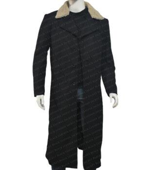 Daniel Brühl The Falcon And The Winter Soldier Black Leather Coat