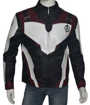 Avengers Endgame Captain America Leather Jacket