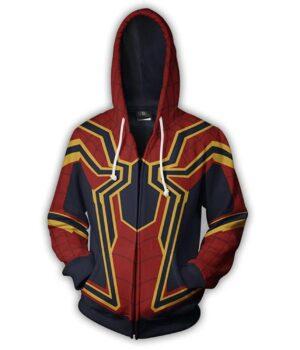 Avengers Infinity War 2018 Coolest Mens Hoodie RDJ