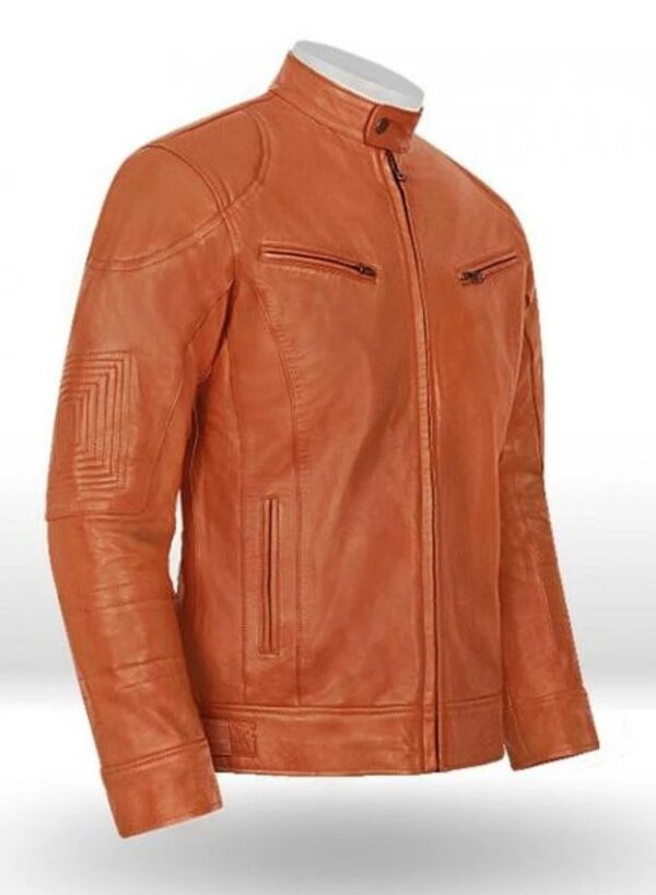 Leather Jacket Terrain Brown