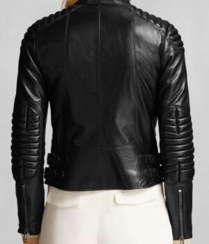 Motorcycle Women's Black Jacket 2