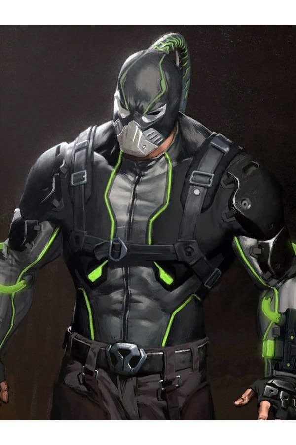 Video Game Bane Injustice 2 Jacket