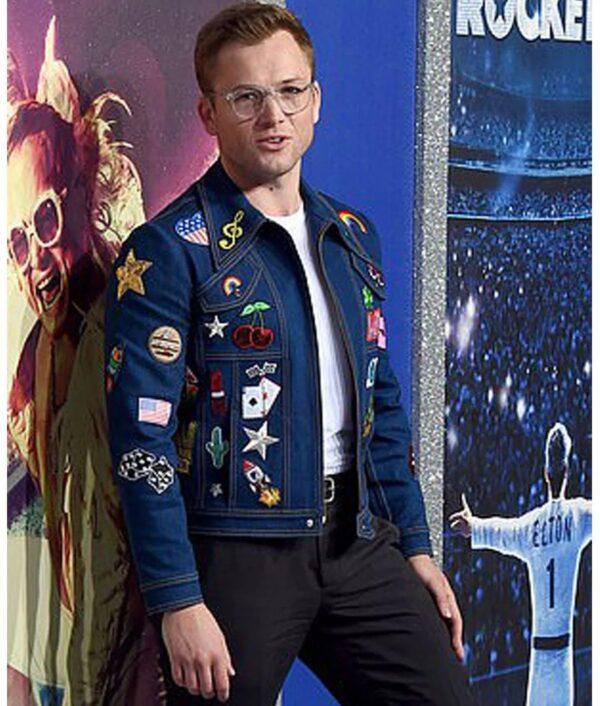 Elton John Denim Jacket