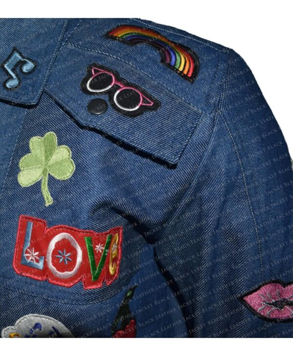 Rocketman Elton John Denim Jacket half