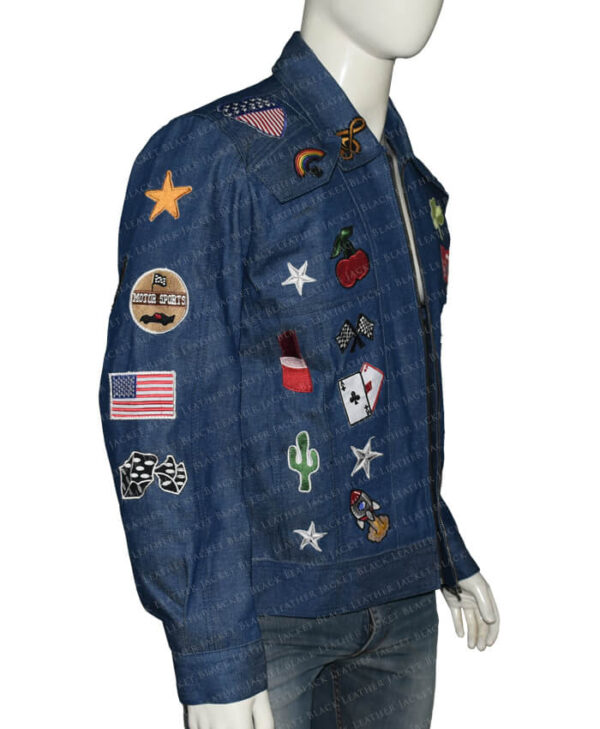 Rocketman Elton John Denim Jacket side