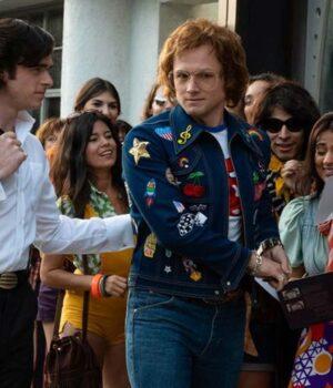 Elton John Rocketman Denim Jacket