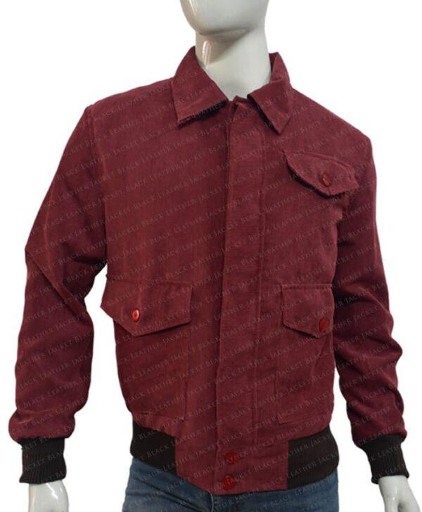 The Shining Jack Torrance Corduroy Red Jacket