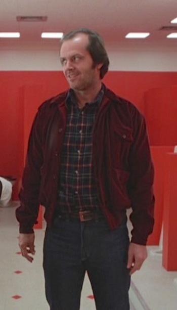 Jack Nicholson Red Velvet Jacket