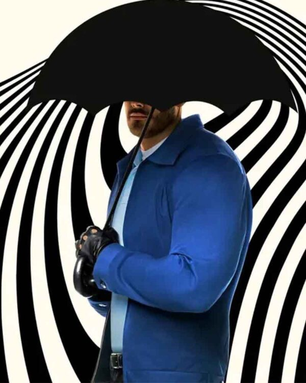 The Umbrella Academy Tom Hopper Blue Jacket