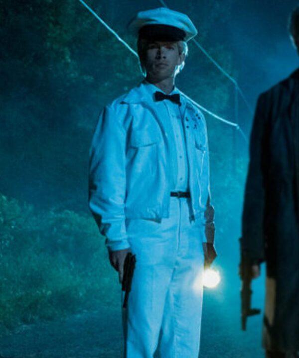 The Umbrella Academy S02 Tom Sinclair White Cotton Jacket