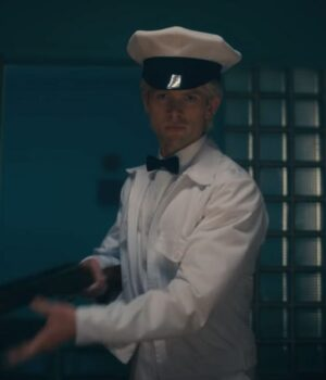 The Umbrella Academy S02 Tom Sinclair Cotton White Jacket