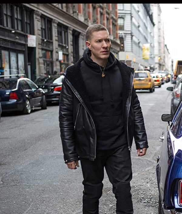 Joseph Sikora Black Hooded Jacket