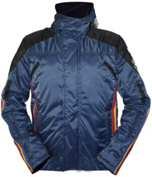 Death Stranding Sam Porter Bridges Blue Hooded Jacket