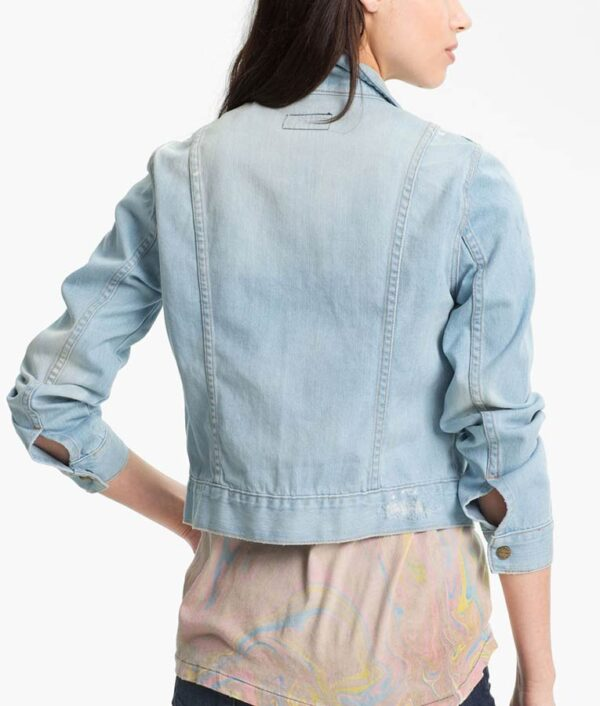 Monica Dutton Denim Blue Jacket