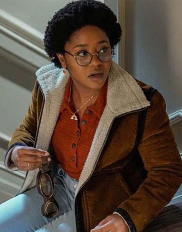 Stargirl Beth Chapel Brown Suede Jacket