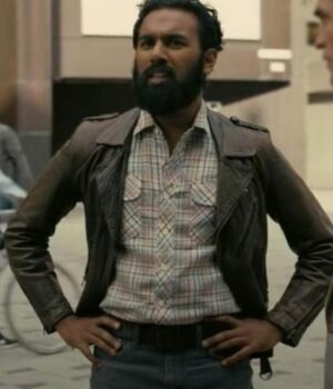 Tenet Himesh Patel Leather Jacket