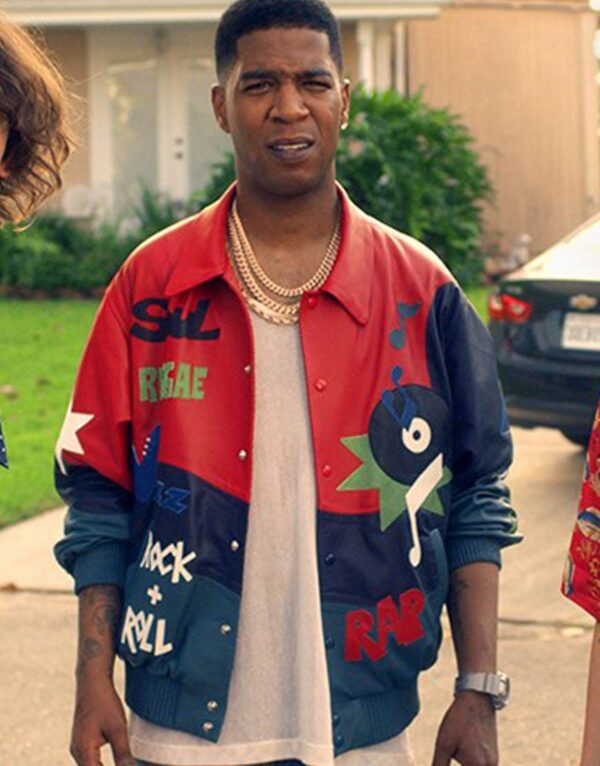 Kid Cudi Bill & Ted Face The Music Printed Jacket