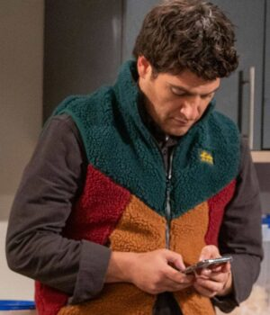 Adam Pally Indebted Shearling Vest
