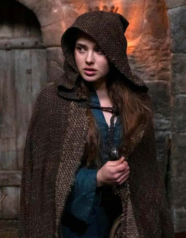 Cursed Brown Woolen Cloak