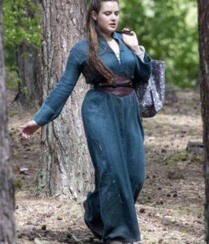 Katherine Langford Blue Coat