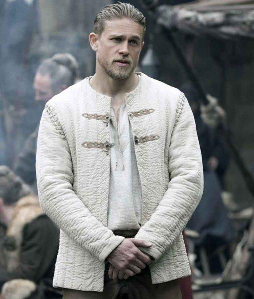 Legends Of The Hunnam Ivory White Jacket