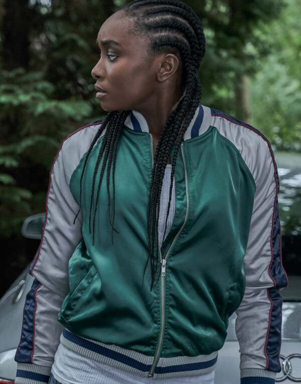 Kiki Layne The Old Guard Varsity Jacket