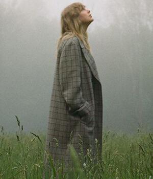 Taylor Swift Checkered Coat