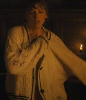 Cardigan Song Taylor Swift Woolen Sweater