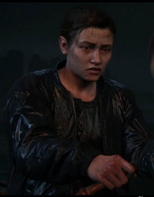 Abby The Last Of Us Part II Leather Jacket