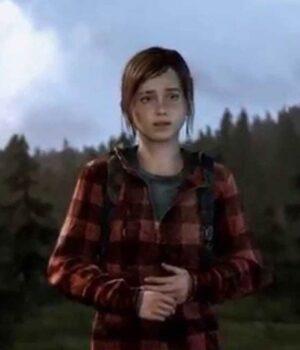 Ellie Red Checkered Hoodie
