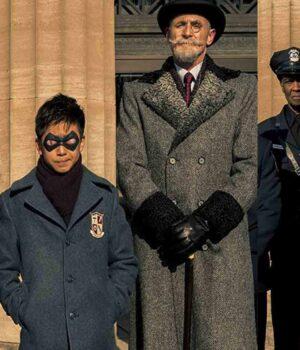 The Umbrella Academy S02 Grey Trench Coat