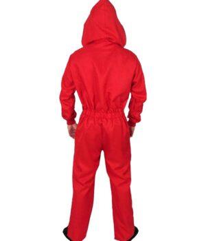 Money Heist La Casa De Papel Red Hooded Costume