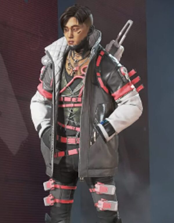 Apex Legends Crypto Cardimal Black Jacket