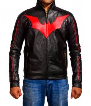 Terry Mcginnis Red Logo Batman Beyond Jacket