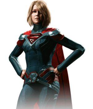 Injustice 2 Super Girls Leather Jacket