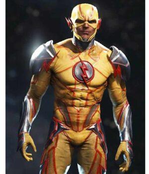 Video Game Injustice 2 Reverse Flash Jacket