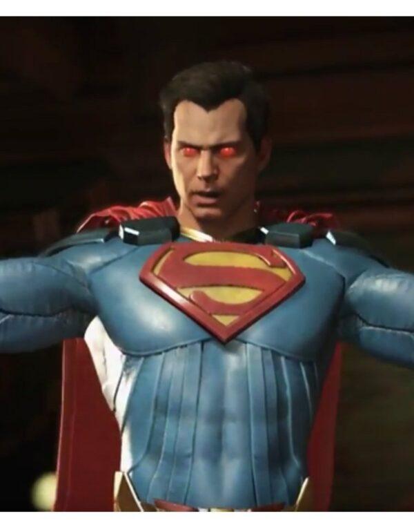 Injustice 2 Superman Blue Jacket