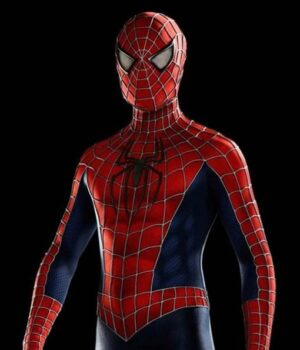 Peter Parker Amazing Spiderman Leather Jacket
