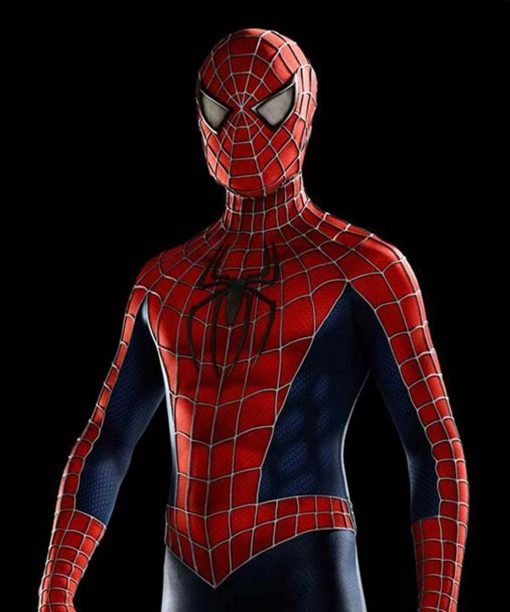Peter Parker Amazing Spiderman Leather Jacket
