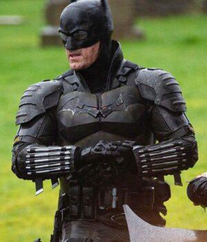 The Batman Bruce Wayne Black Jacket