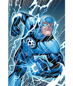 The Flash Blackest Night Blue Jacket