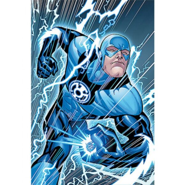 The Flash Blackest Night Blue Jacket