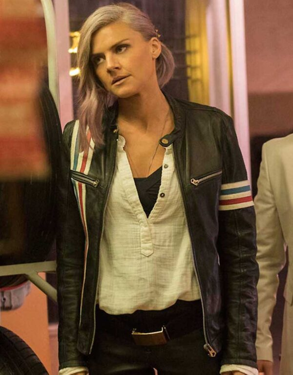 Eliza Coupe Future Man Black Jacket