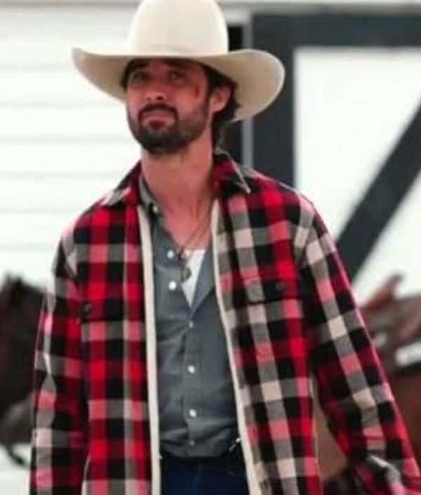 Walker Yellowstone Red Plaid Jacket