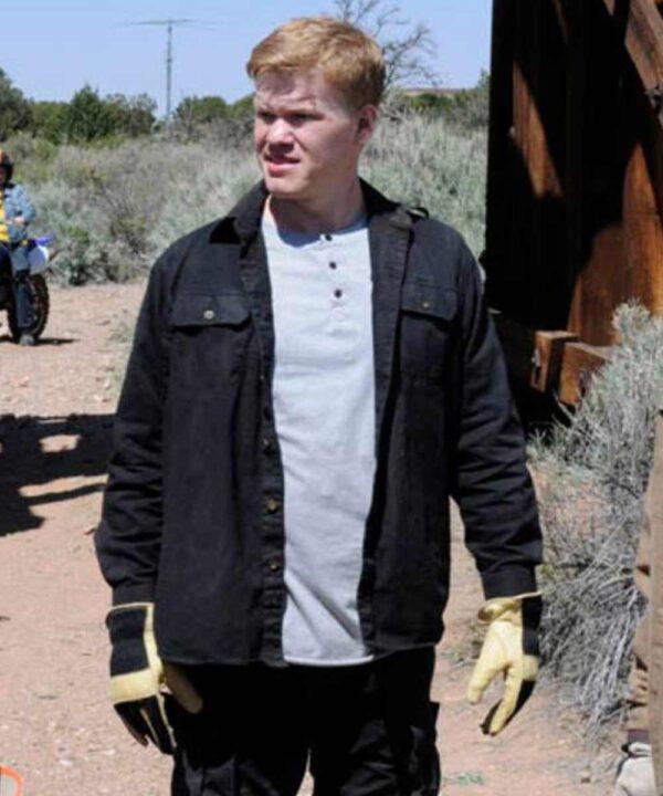 Breaking Bad Jesse Plemons Black Cotton Jacket