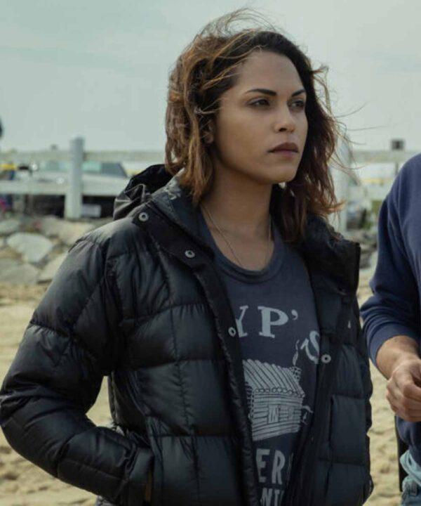 Monica Raymund Hightown Puffer Jacket